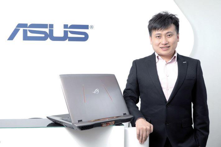 ASUS 業務發展經理蕭嘉秀。