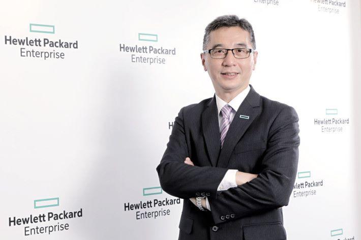 HPE 香港企業伺服器部門業務總監麥家樂
