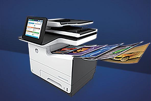 PageWide 採用顏料墨水,防水耐用,可持久保持文件的色彩。