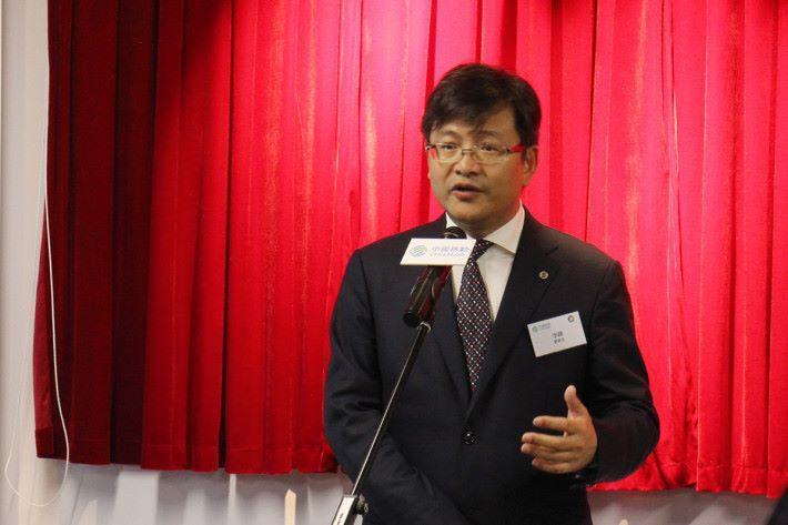 中國移動香港董事長李鋒表示,香港提供環境與合作夥伴研發各式 5G 應用。