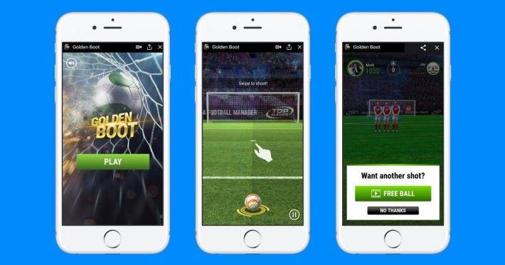 遊戲開發者可在 Instant Games 平台上開發遊戲了。