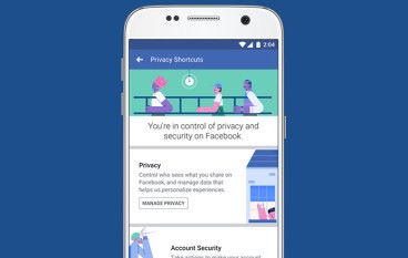 Facebook 宣布會在數周內推出改善用戶個資管理的新方案