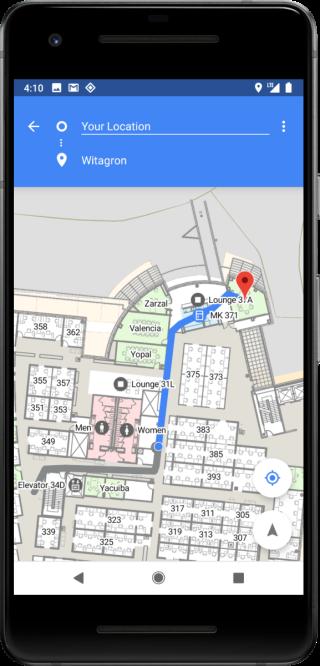 Wi-Fi RTT 支援可讓開發者開發出室內導覽、定位的程式