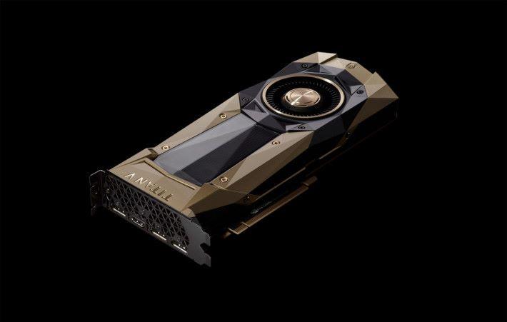 NVIDIA GTX 2080 是鑲金的嗎?為何賣得那麼貴?大家認為 GTX 2080 的價格合理嗎?(圖為 TITAN V。)