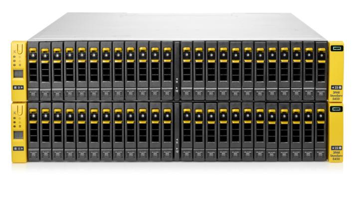 HPE 3PAR 可在單一系統中自由擴充,從小至 3TB擴展至超過 7PB 容量,更可在陣列間無縫地搬遷數據。