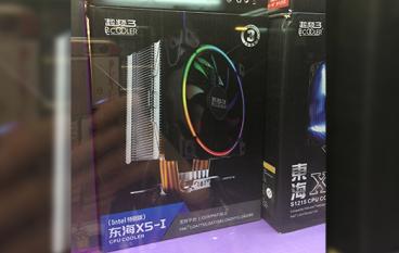 平玩 RGB 散熱 超頻 3 PCCooler 塔式玩四管