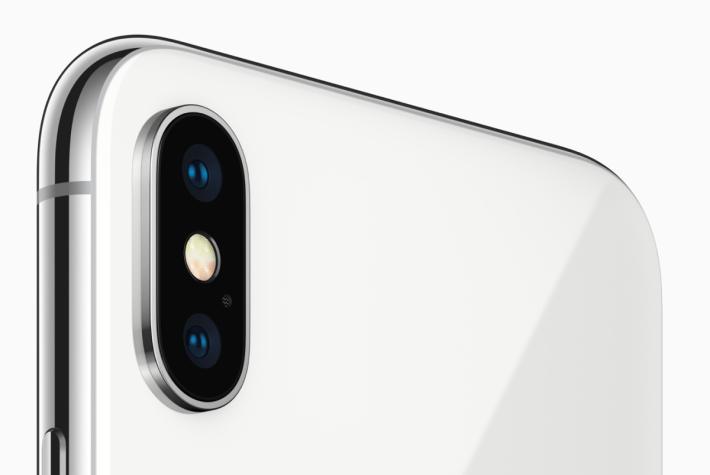 現時的 iPhone X 和 iPhone 8 Plus 為雙鏡頭系統
