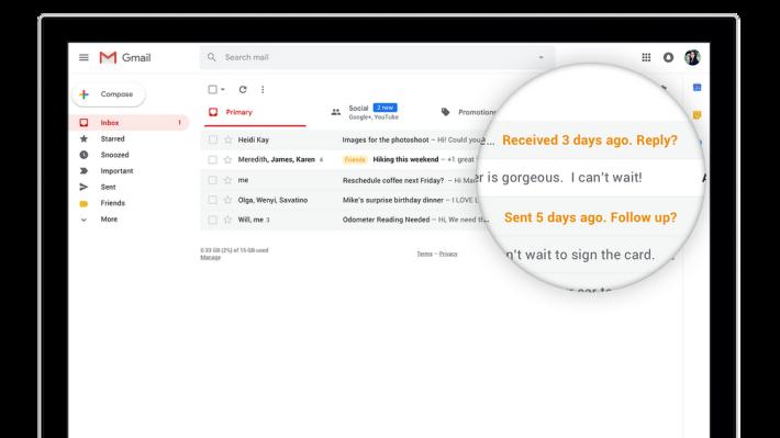 運用 AI 來自動追踪後續電郵和自動提醒
