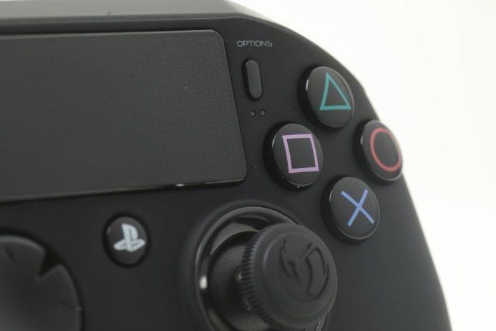 按鈕使用凸面圓弧設計