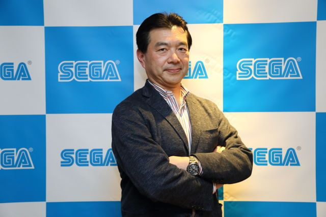 Sega Games 社長松原健二。