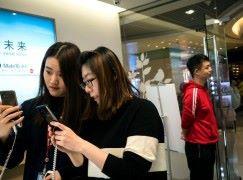 中國手機出貨量急劇下跌