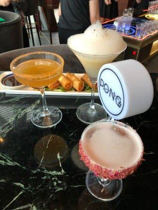 除了干邑之外,PONG 還有多款特色雞尾酒。