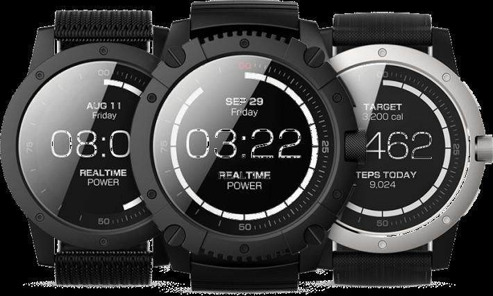 以人體熱能充電的智能腕錶MATRIX PowerWatch