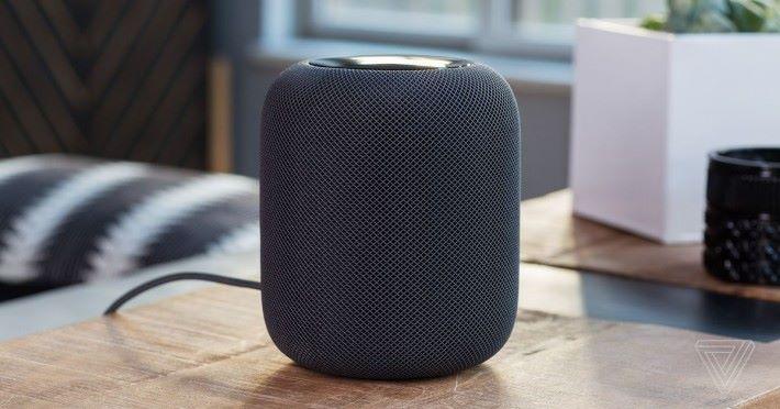 目前 HomePod 的應用只侷限於音樂播放。