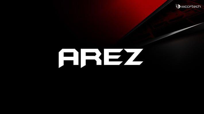 Wccftech 設計了 AREZ 系列的模擬字樣,非 ASUS 官方所設計。Source:Wccftech