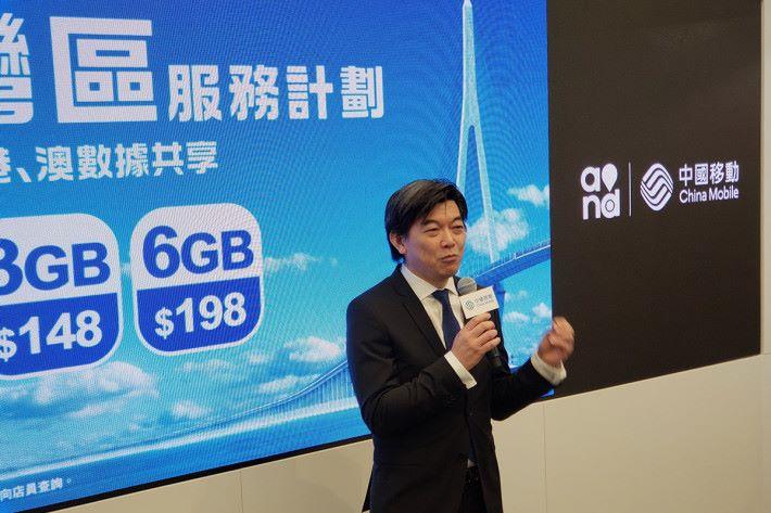 中國移動香港董事及行政總裁李帆風表示,旗艦店選址旺角當然是取其人流多的優點,亦認為這個地段較「貼地」,可照顧到不同客戶所需。