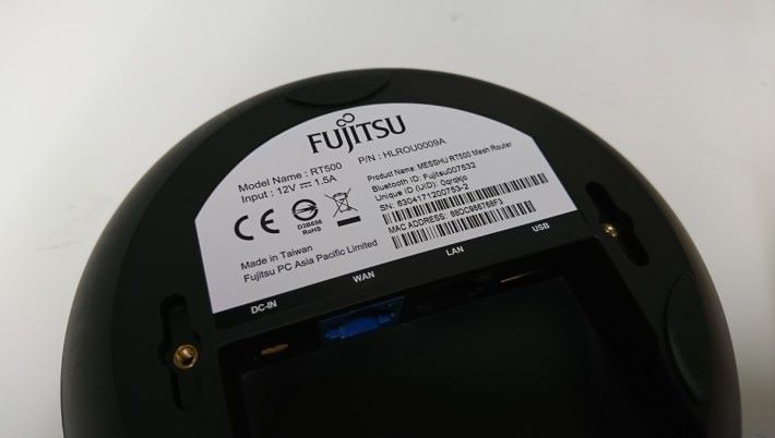 Fujitsu MESSHU 是在台灣製造。