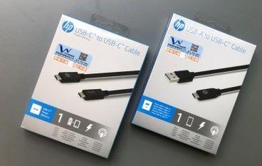 支援 PD 充電 HP USB-C 充電傳輸線