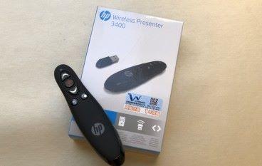 開會必備 HP Wireless Presenter 3400