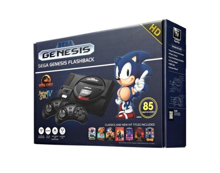 由 Sega 授權推出的 Sega Mega Drive Flash HD ,只針對海外市場。