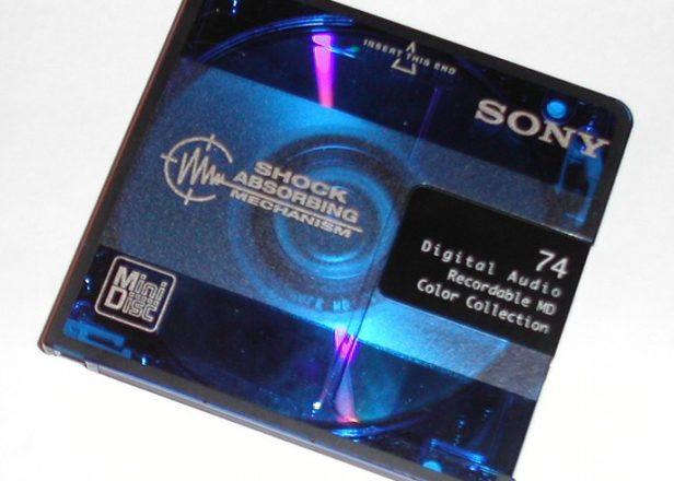 90年代,叱吒一時的 Mini Disc
