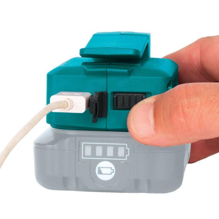 職安真漢子 Makita 推出工地用 USB 充電傳駁器