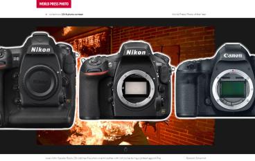 誰說是無反世代?新聞攝影比賽得獎者大多用 Nikon 單反