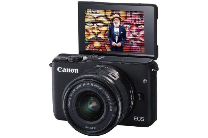 輕巧而功能齊備的 Canon EOS M10,帶去旅行就最啱。