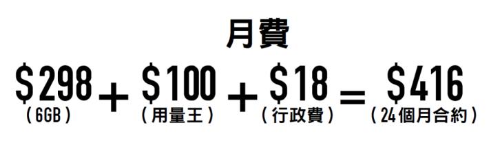 csl 官網月費計算。