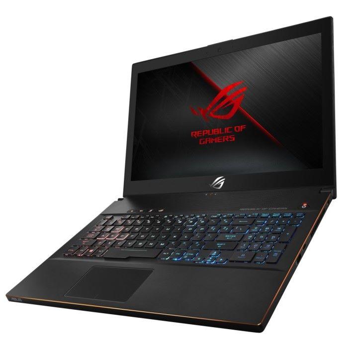 全新的 ROG Zephyrus M,鍵盤設計明顯和上代不同。