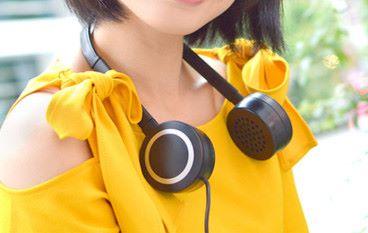 終極廢青扇 耳機型涼風機