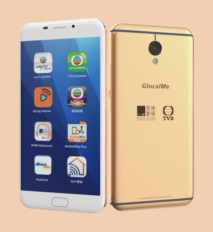 Global Phone 將漫遊 Wi-Fi 蛋與智能手機二合為一,以 Cloud SIM 技術為用戶在全球60多個國家提供 4G 網絡服務。