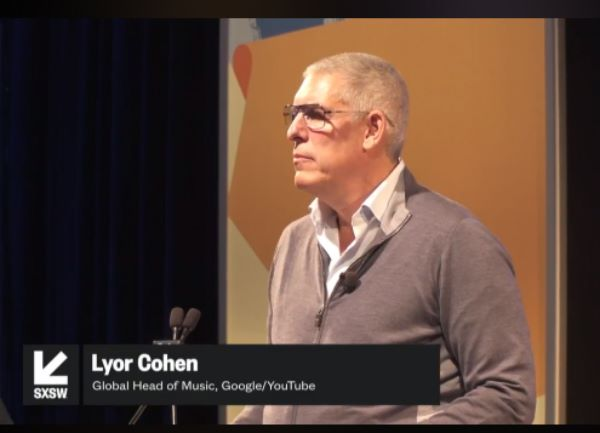 YouTube 全球音樂主管 Lyor Cohen