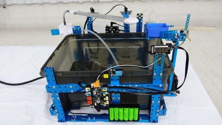 養龜系統是所有設計品運用最多組件。