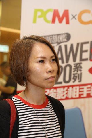 李小姐本身用開 HUAWEI 手機,試玩完 P20 Pro 後感覺相片質素再上一層樓,而且對 5 倍混合變焦所拍攝的相片質素十分滿意。