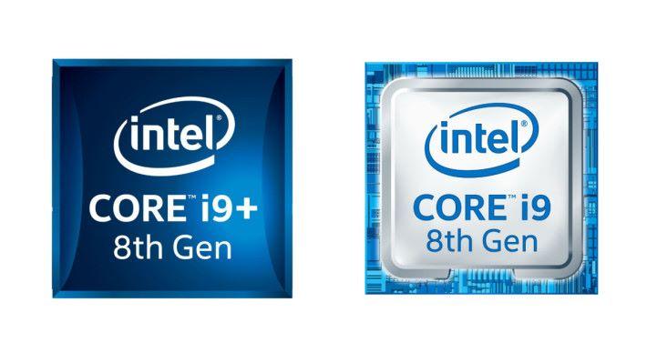左邊的 i9-8950HK+ 與右邊的 i9-8950HK,在規格方面完全沒分別,除了前者支援 Intel Optane Memory 之外。