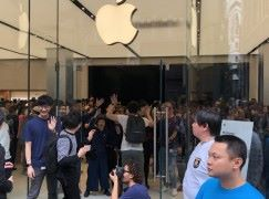 Apple Store 新宿店開幕