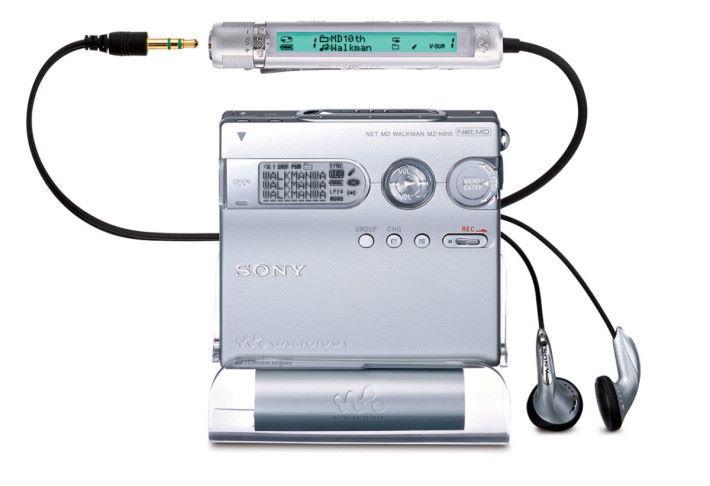 MD Walkman 可說是 90年代的潮物。