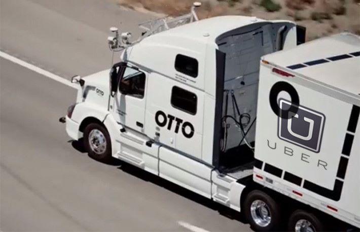 自動駕駛系統已經應該到長途運輸上,以提升效率。
