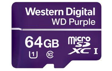為 4K 監控而生 Western Digital 推出 WD Purple micro SD 卡