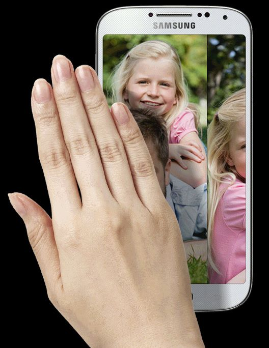 Samsung 部分型號手機都設有隔空手勢控制功能。