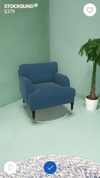 IKEA 《 Place 》可以在現實的家居中放入虛擬的傢俬看看效果
