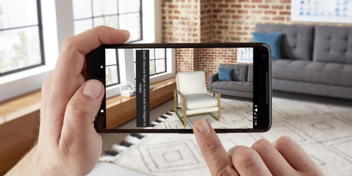Amazon 也在它 Android App 上加入 AR View 功能