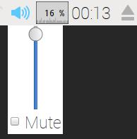 方法 1 :以滑鼠左按剛才提及到的的喇叭圖示,移動滑桿的高度來調節音量的大小。