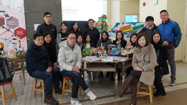 樂善堂梁銶琚學校(分校)老師團隊同心協力製作了全新的教學內容予該區學生學習。