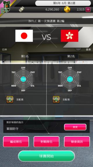 日本隊起始的實力連香港隊也不如。
