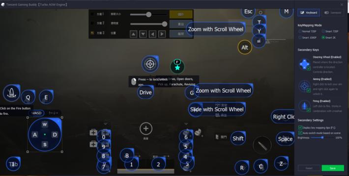 點擊畫面就可以新增操作,再輸入指令就會於遊戲使用。