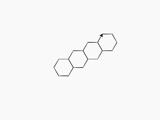 以上程式完成了單邊的六邊形平面物鋪。