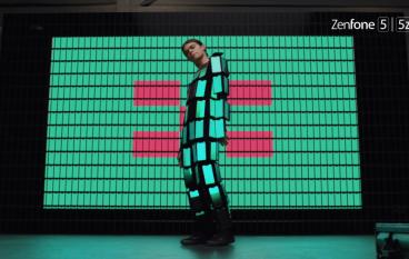 將 89 部手機穿上身跳舞 ASUS 創意廣告宣傳 ZenFone 5 / 5z