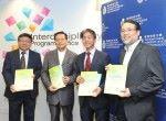 科技大學發表大灣區創科發展報告,指香港競爭優勢正迅速消失。(科技 大學提供圖片)